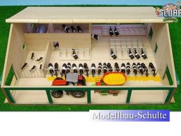 modellbau kg 610495 kuhstall mit melkroboter. Black Bedroom Furniture Sets. Home Design Ideas