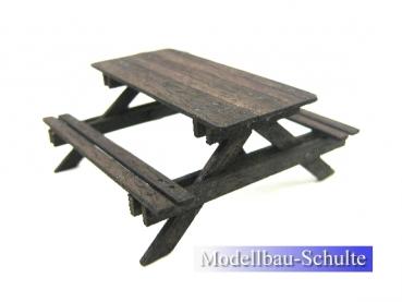 modellbau picknicktisch. Black Bedroom Furniture Sets. Home Design Ideas