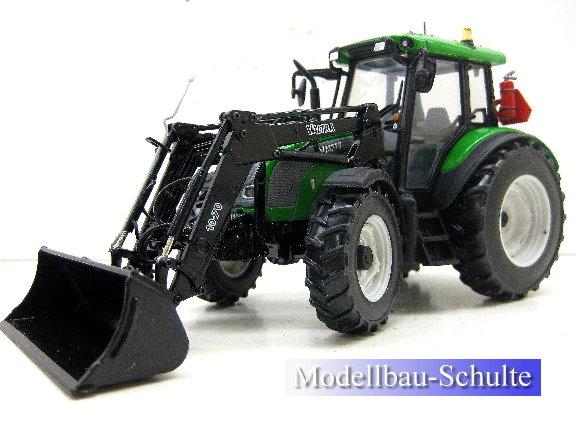Siku traktor man r mit frontlader grün ebay